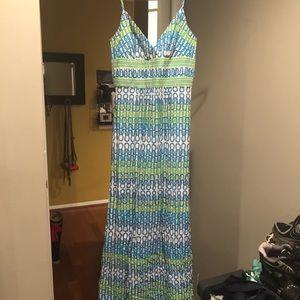 Trina Turk Maxi Dress sz 4